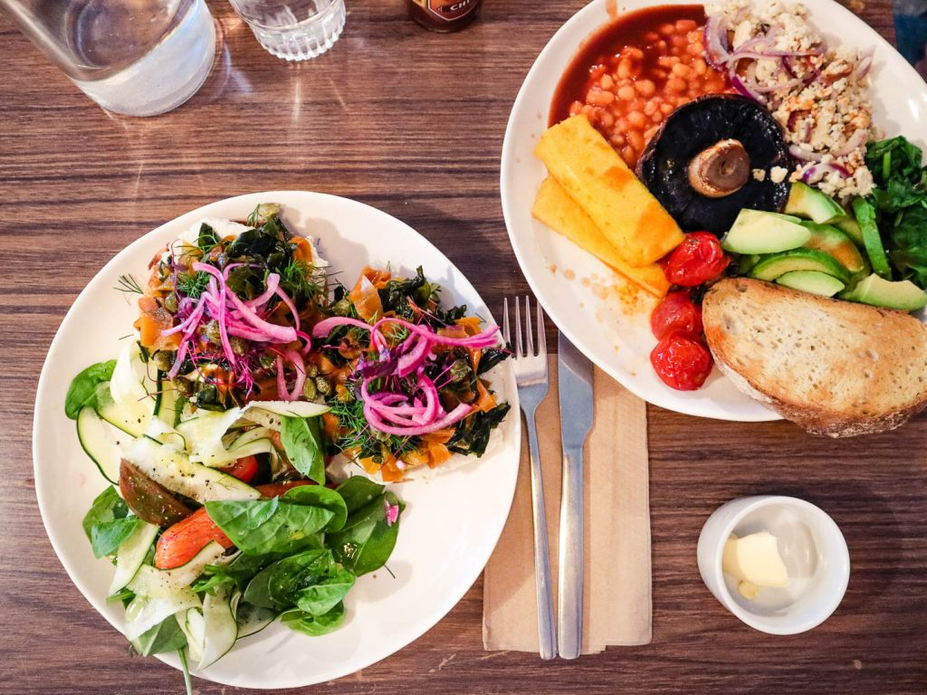 This Glasgow vegan guide introduces the most popular vegan eateries in Glasgow for breakfast, lunch & dinner. The only Glasgow vegan guide you'll ever need!