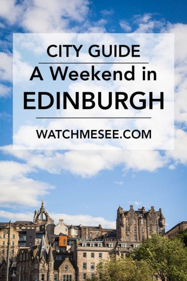Edinburgh makes for a city trip. Find out what to do & see, where to grab food & drinks and where to stay in my weekend guide for Edinburgh!