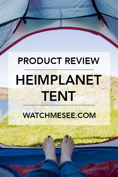 The ultimate tent can make or break your camping adventures - as can the right breakfast! Click this image to read my full review of the inflatable Heimplanet tent The Wedge, or save this pin for later!