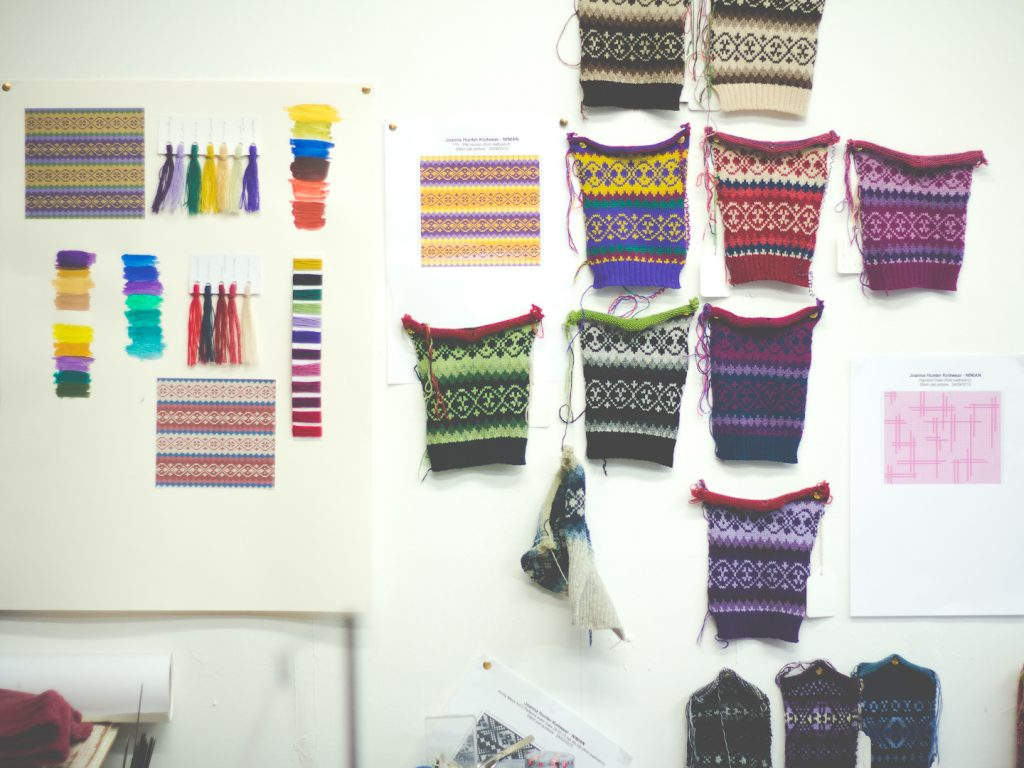Studio Visit: Joanna Hunter, Ninian | WatchMeSee.com
