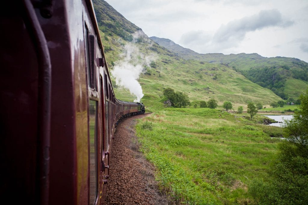 That moment, when you finally get your letter and then you almost fail to make it onto the Hogwarts Express... Read on for my experience on the Jacobite Steam Train!