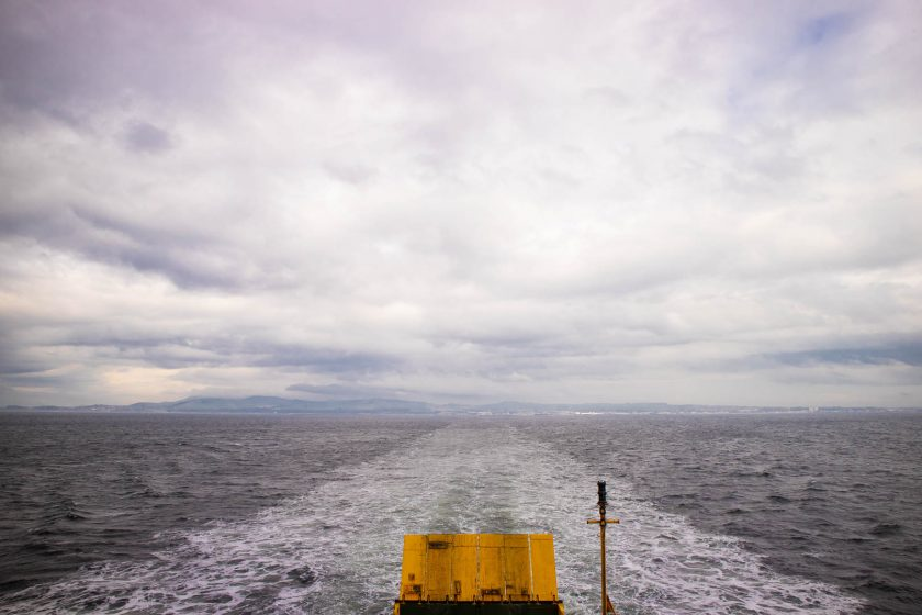 Ferry from Ardrossan to Campbeltown.