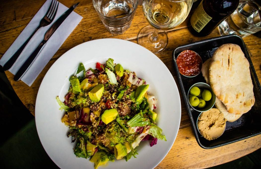 Best restaurants in edinburgh with vegan options