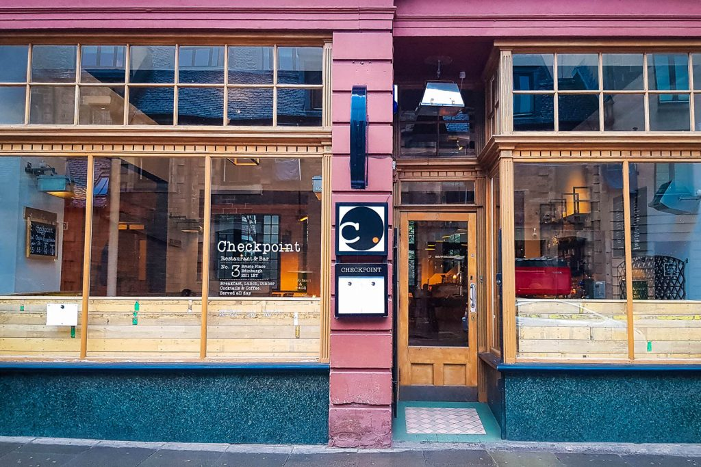 Checkpoint restaurant in Edinburgh