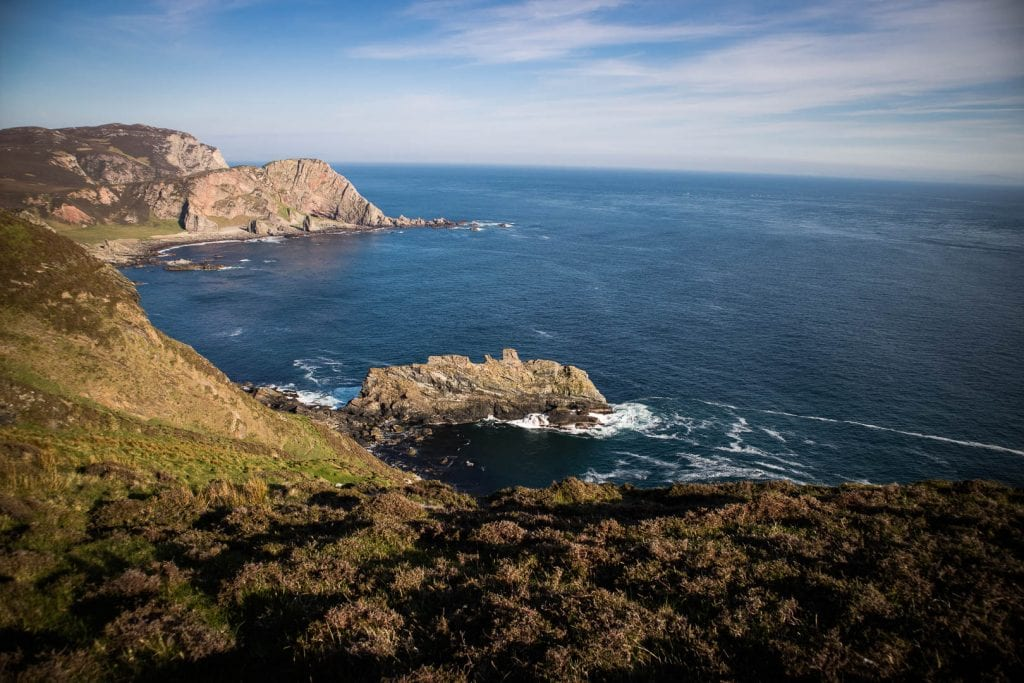The cliffs at the Mull of Oa on Islay