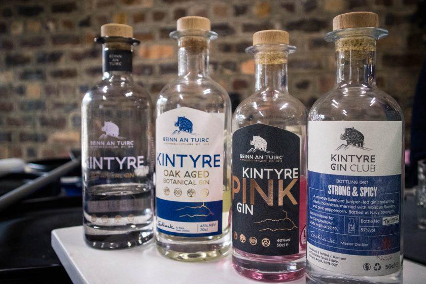 Range of Kintyre Gin