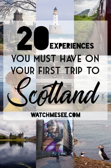 Planning a trip to Scotland is a daunting task - especially when it's your first time. You could begin by locking down dates or mapping out a route, but this list of things to taste, feel, do & see allows you plan a trip around once-in-a-lifetime experiences you must have when traveling to Scotland for the first time!