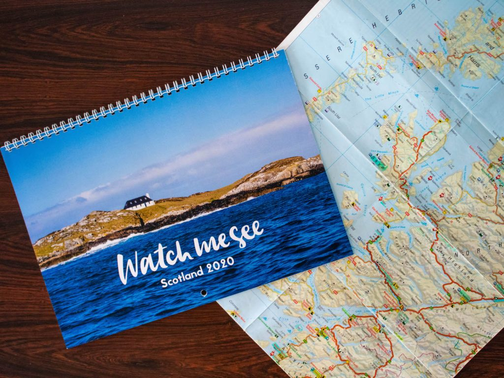 2020 Scotland Calendar by Watch Me See
