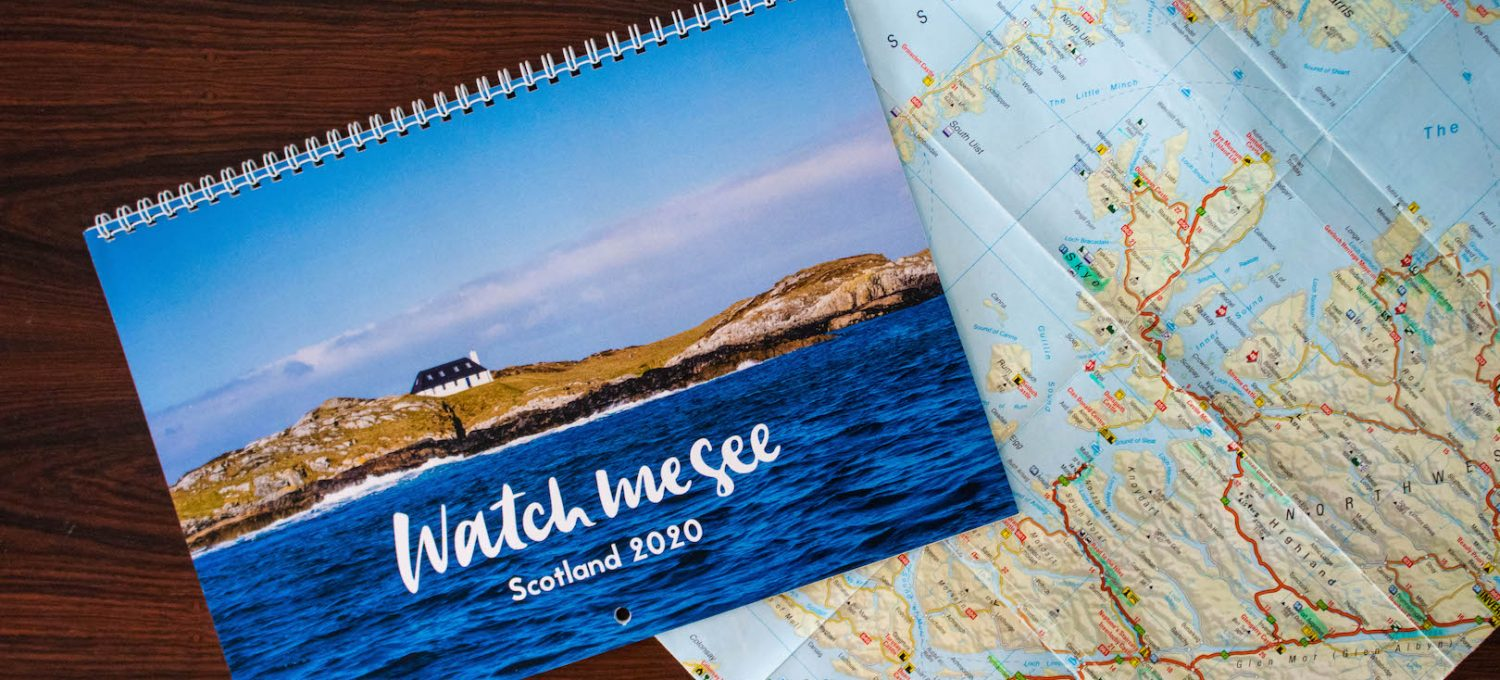 2020 Scotland Calendar by Watch Me See
