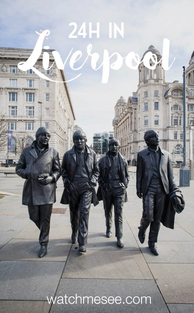 A city guide to Liverpool - how to spend 24h in Liverpool, incl. my favourite (vegan) eateries, vintage shops & Beatlemania spots.