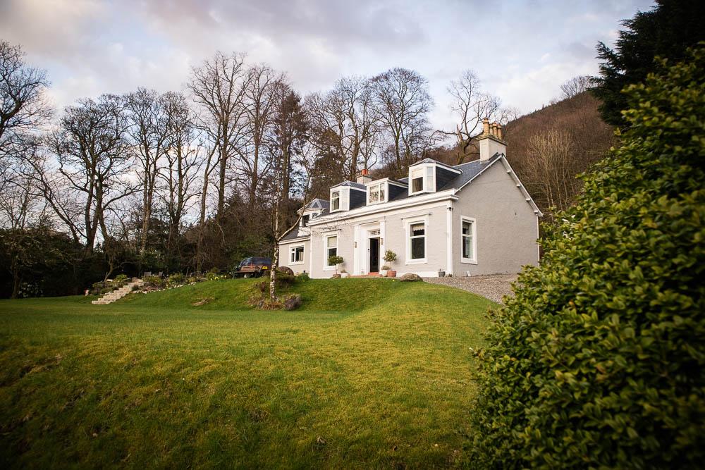 Ashfield House B&B in Arrochar.