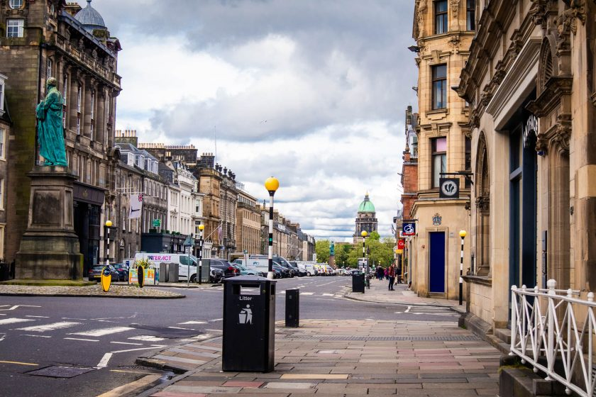 New Town in Edinburgh