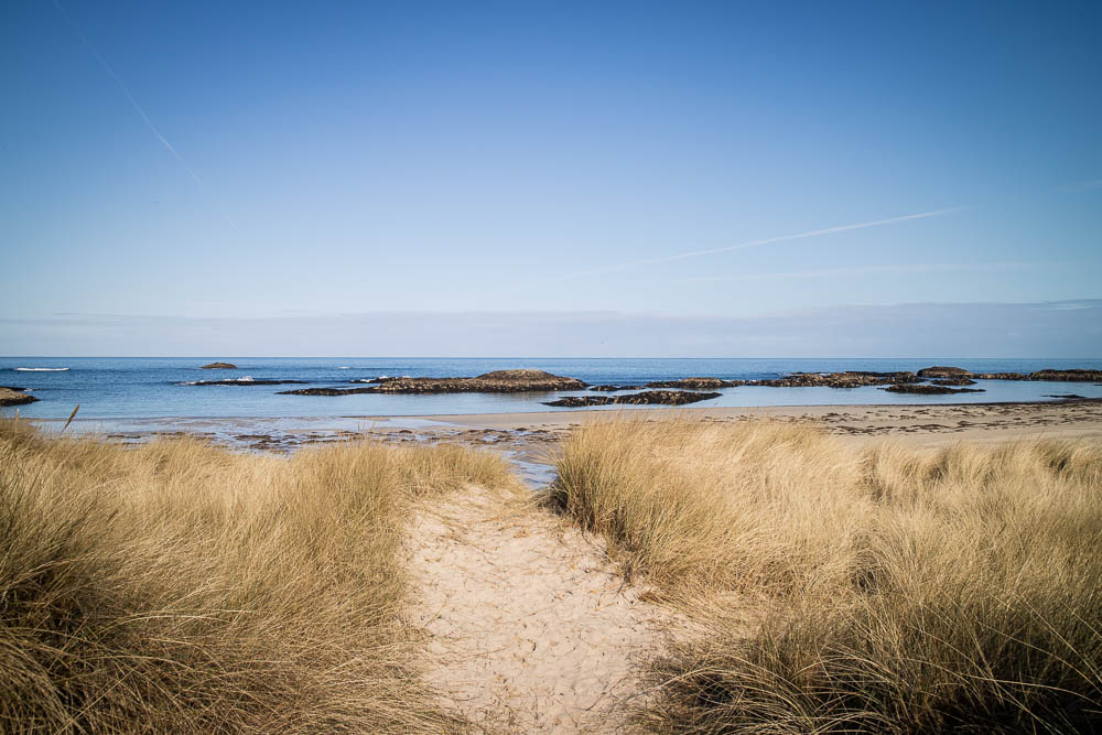 A sandy beach on Coll