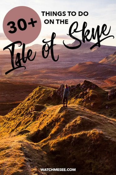 Does Skye live up to the hype? Here are 30+ amazing things to do on the Isle of Skye, incl. the most scenic view points and a full accommodation guide!