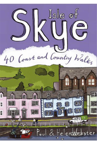 40 walks on the isle of skye hiking guide book