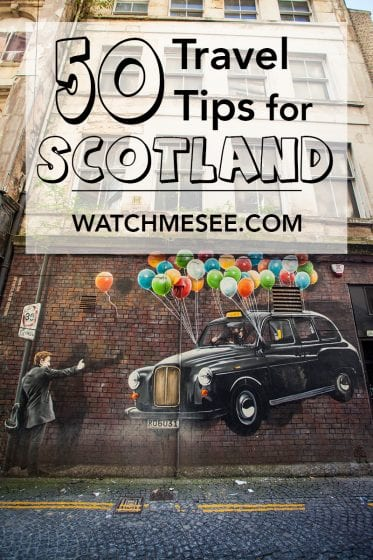 Scotland is a veryeasy to navigate and accessible destination, even (or especially)for first time travellers, but you can't go wrong reading up on the ins and out of traveling this country. These 50 travel tips for Scotland should help you get going!