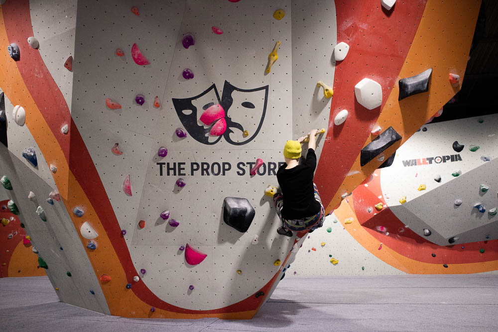 Bouldering at The Climbing Academy in Glasgow
