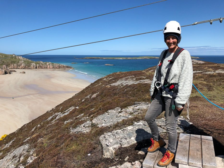 Golden Eagle zipline in Scotland