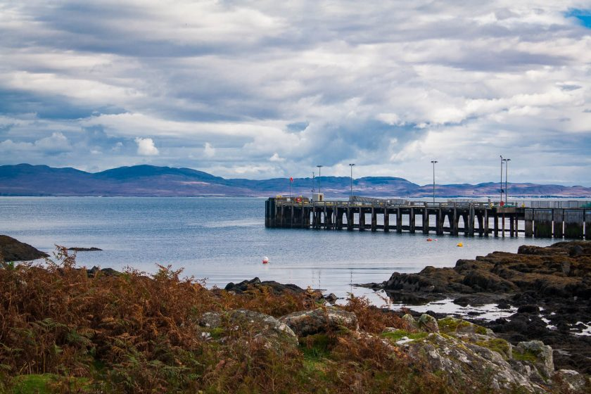 Ferry terminal on Colonsay