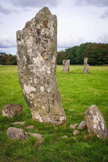 Nether Largie Standing Stones in Kilmartin Glen