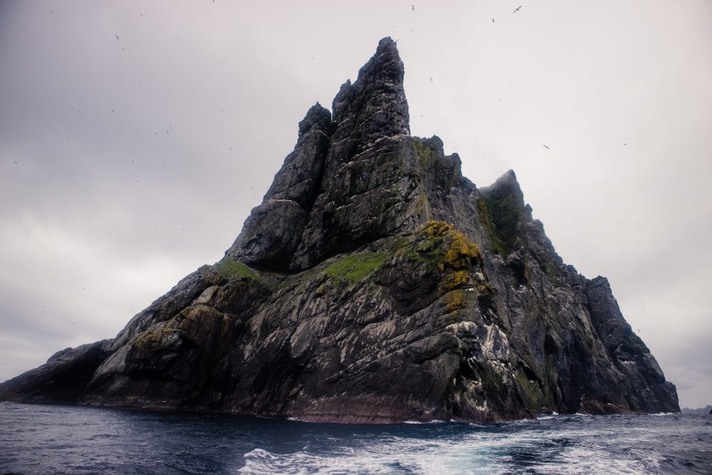 A sea stac near St Kilda