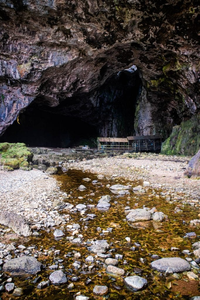 North Coast 500: The entrance to Smoo Cave
