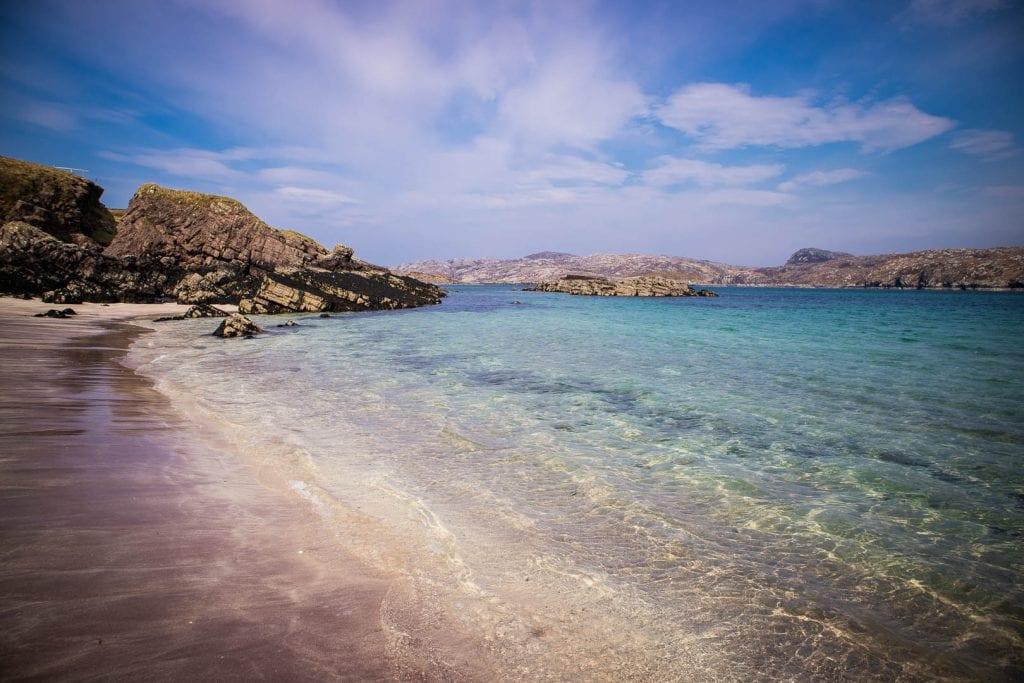 Beach on Handa Island