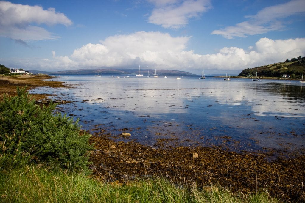 The Isle of Arran is a brilliant weekend getaway from Glasgow or Edinburgh.