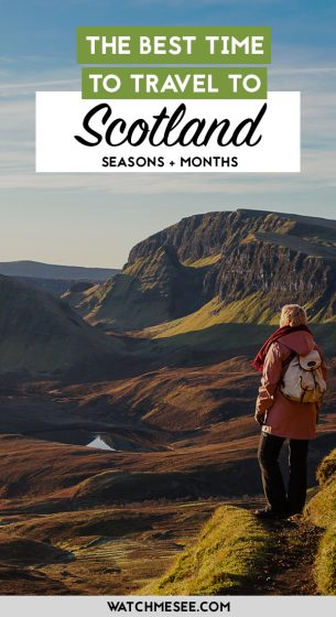 Each season in Scotland has benefits & downsides. Spring, summer, autumn or winter - what really is the best time to visit Scotland?