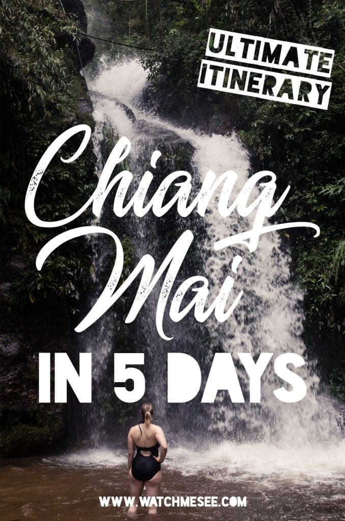 Chiang Mai is one of those must see places in Thailand, but how much time should you spend here? Find out in this Chiang Mai itinerary for 5 days!