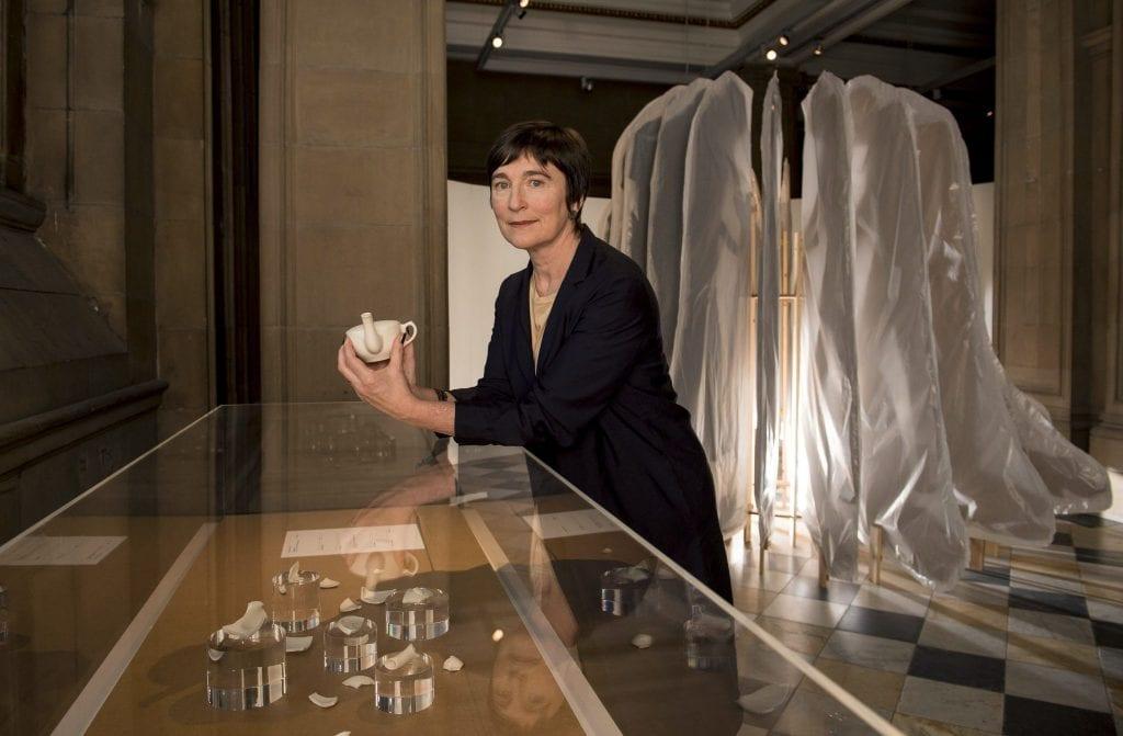 Christine Borland at Kelvingrove Museum.