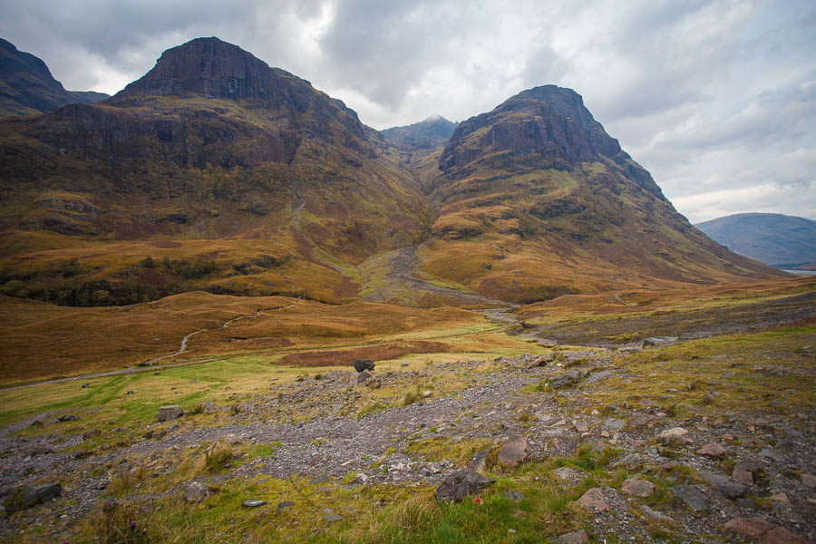 Mountains in Glencoe.