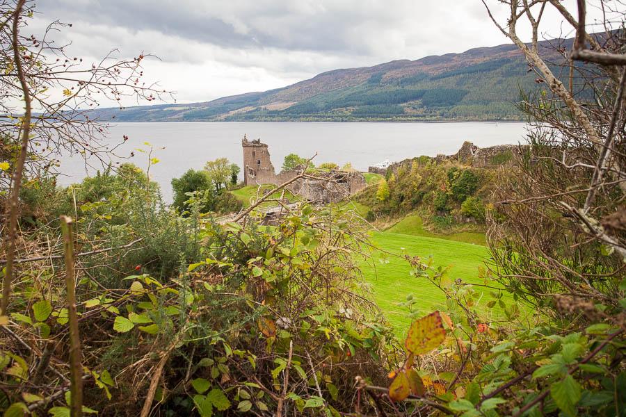 Urquhart Castle by Loch Ness.