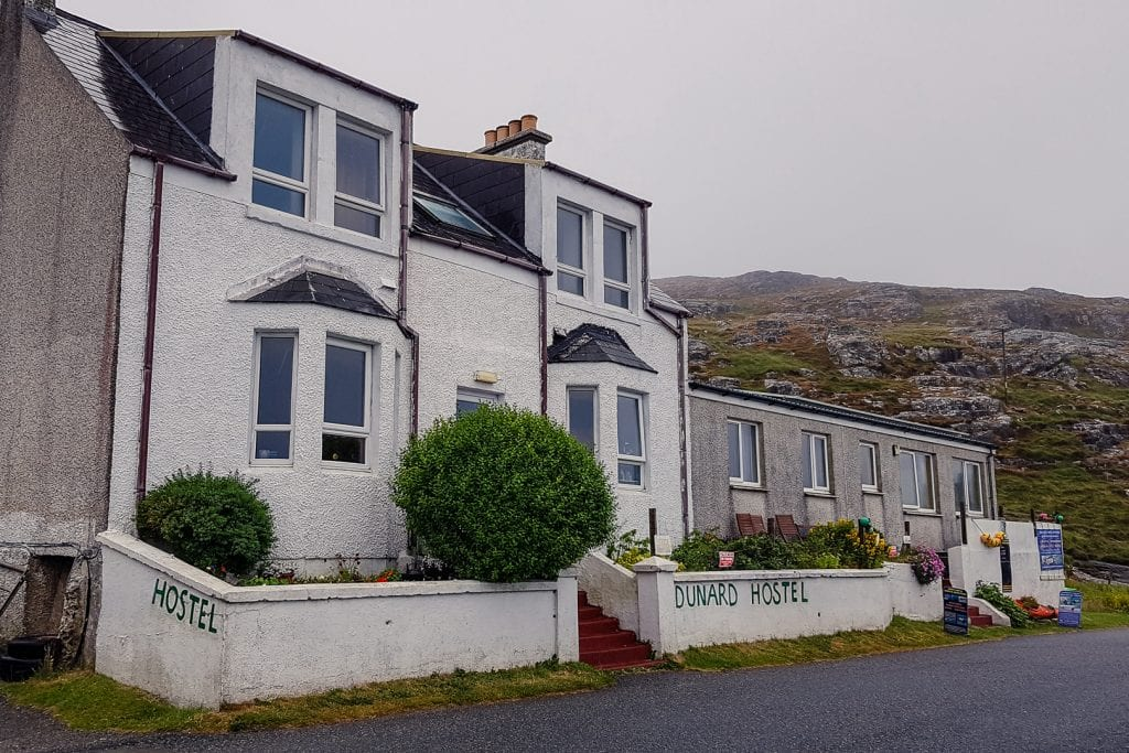 Dunard Hostel in Castlebay on Barra.