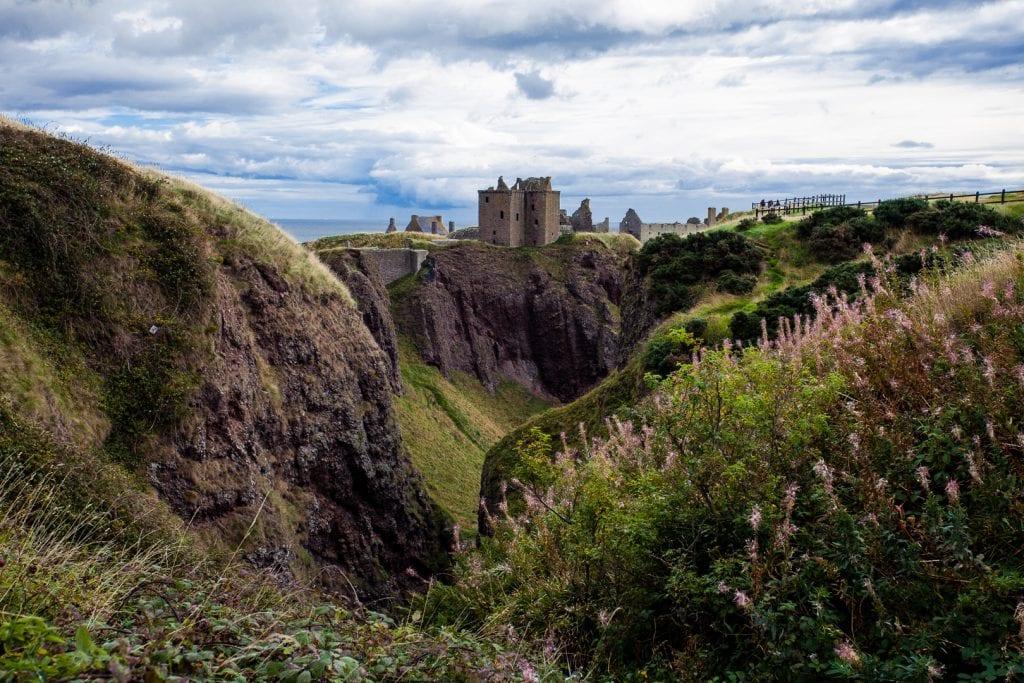 Dunnottar Castle in Aberdeenshire
