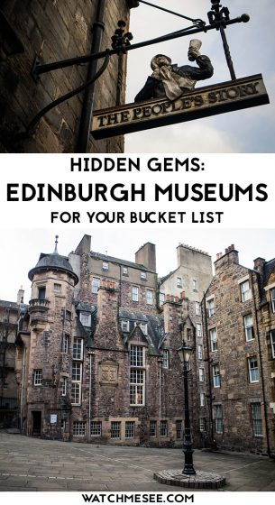 Read more about the best hidden Edinburgh museums, galleries and monuments that are worth a visit to discover hidden gems in Edinburgh.