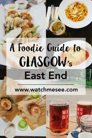 Glasgow's food scene is on the rise. This Food Guide for Glasgow's East End is a selection of my favourites around my neighbourhood of Dennistoun & beyond.