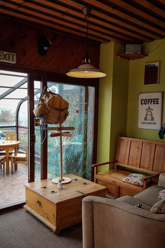 North Coast 500: Mountain Coffee Company cafe in Gairloch
