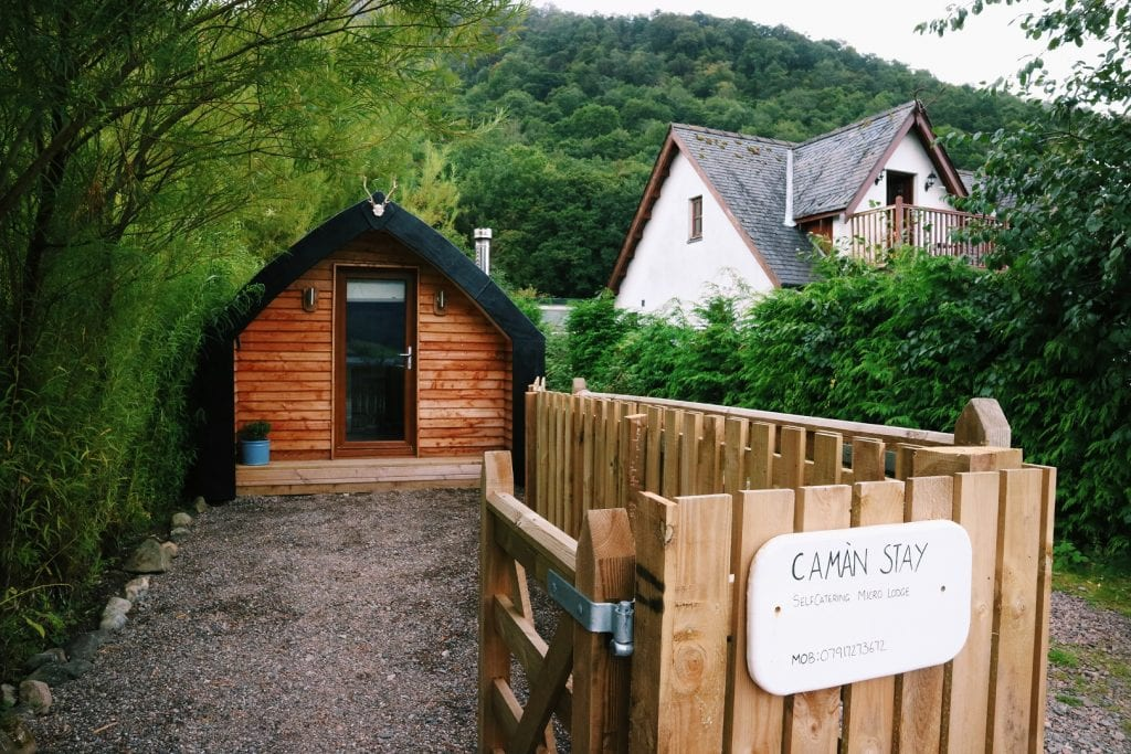AirBnB accommodation self catering in Glencoe