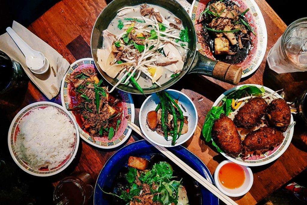 Feed Me at Hanoi Bike Shop.