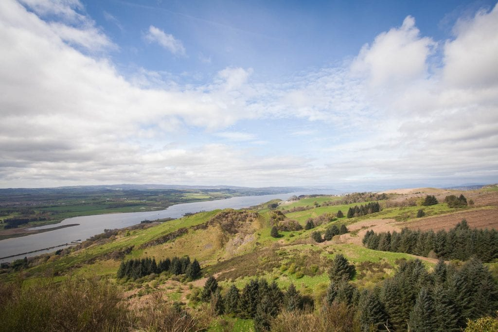 No need to go as far as Glencoe or Loch Lomond for an active day out and about - a hike in the Kilpatrick Hills makes for a perfect day trip from Glasgow!