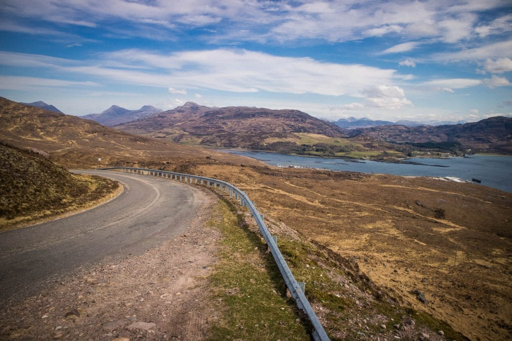 Applecross road Bealach na ba pass road