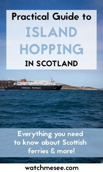 Want to visit the Scottish islands but don't know where to start? This guide will help you to turn your dream about island hopping in Scotland into reality!