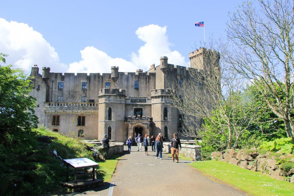Dunvegan Castle and Gardens on Skye.