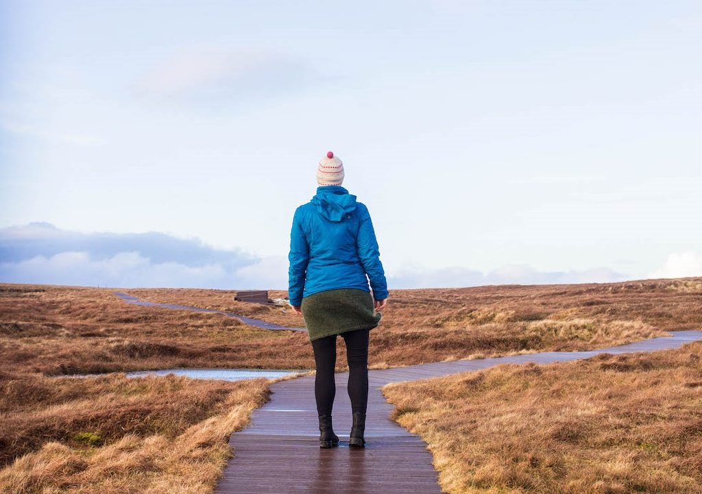 A good waterproof jacket is the most important thing to pack for a trip to Scotland.