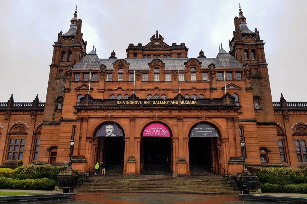 The Kelvingrove Art Gallery and Museum in Glasgow.