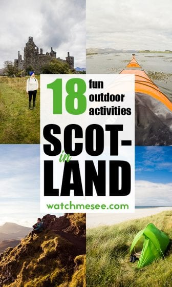 Need a real adventure or a family-friendly day out for your Scotland holidays? Look no further than this packed list of fun outdoor activities in Scotland!