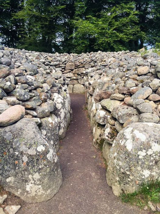 The Clava Cairns in Scotland.