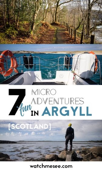 In Scotland adventure is just a hop, skip & a jump away! Check out these fun outdoor adventures in Argyll from star gazing, biking and hiking to kayaking!