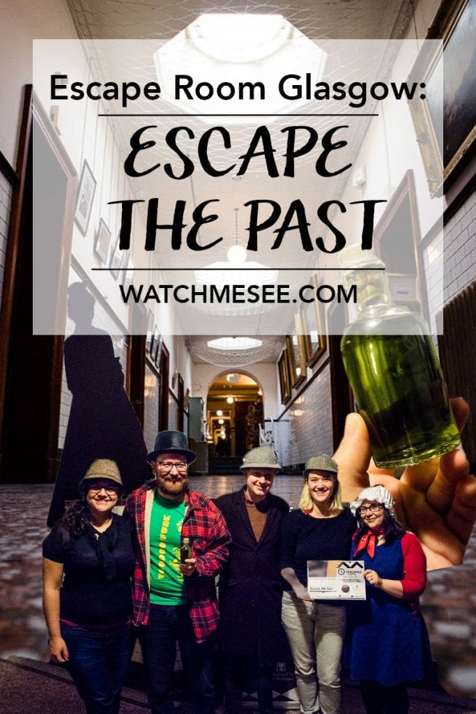 Escape the Past is an escape room in Glasgow taking you back to 1907 with an important task. Can you stop the murder of the head of Pollok House?
